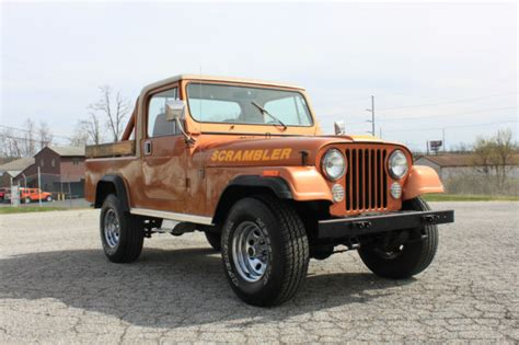 amc jeep scrambler super clean rare 1981 amc jeep scrambler cj8 i