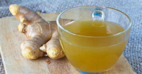 ginger juice drink