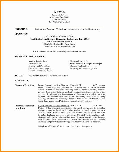 Retail Pharmacist Resume by 7 Retail Pharmacist Resume Sle Free Sles