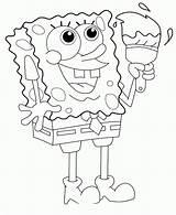 Spongebob Coloring Sponge Colouring Ice Cream Sponges Printable Sea Bob Squarepants Mindy Quotes Games Days Famous Happy Quotesgram Flavors Exe sketch template