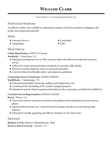 My Resume Customer Service by Customer Service Representative Resume Exles Free To