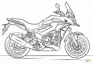 coloring pages free printable coloring pages for kids With honda monkey bike
