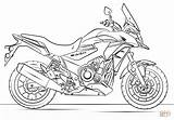 Motorcycle Coloring Racing Pages Honda Printable sketch template
