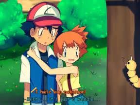Pokemon Ash and Misty