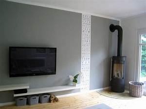 Farbe An Wand : wandgestaltung ideen farbe ~ Markanthonyermac.com Haus und Dekorationen