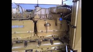Caterpillar 3412 Diesel 720 Hp Marine Engine