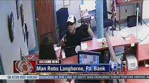 Police search for armed bank robber in Bucks County | 6abc.com