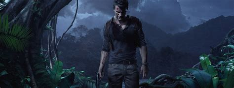 wallpaper uncharted   thiefs  game jungle night