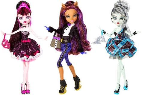 Monster High Sweet 1600 Clawdeen Wolf Doll