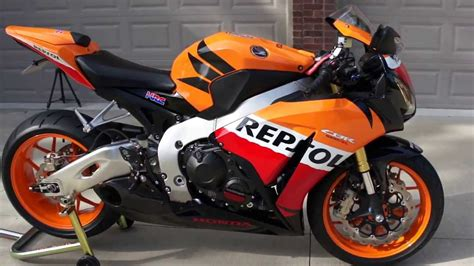 honda cbrrr repsol edition youtube
