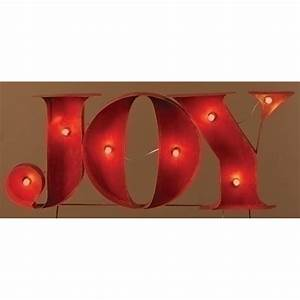 roman 52067 164449 lighted letters and symbols With lighted joy letters