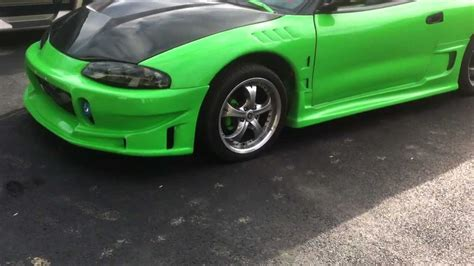 Souped Up Mitsubishi Eclipse by My Custom 1997 Mitsubishi Eclipse