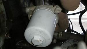 Oil Filter Housing Seal Leak  Also Fuel Filter