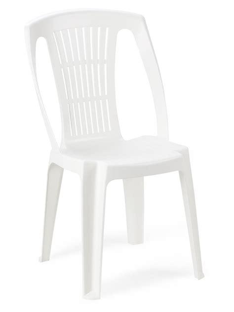 chaise plastique blanche chaise jardin plastique blanche cater empilable hoob