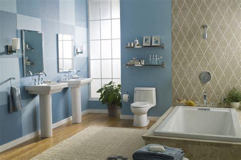 american standard blue room suite modern bathroom