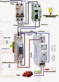 esquemas el 233 ctricos maniobra reloj horario contactor monofasico esquemas el 233 ctricos