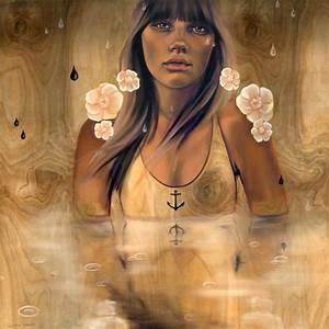 Alluring Wood Paintings of Beautiful Women at Sea - My ...
