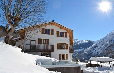 chalet broski catered chalet st martin de belleville three valleys