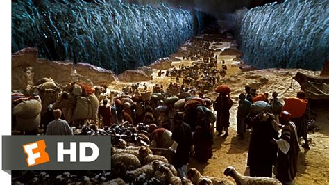 moses parting  red sea hd