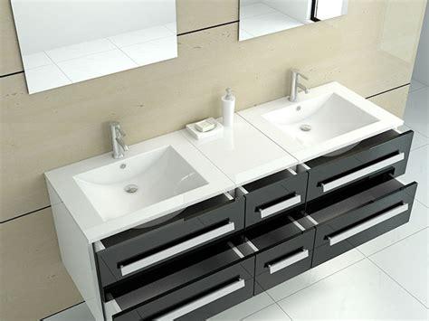 badmöbel set 80 cm waschtisch 2 waschbecken bestseller shop f 252 r m 246 bel und einrichtungen