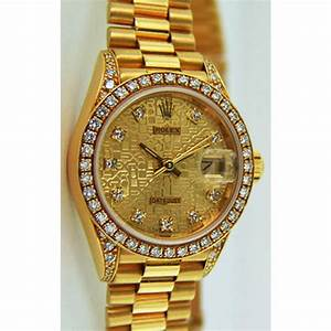 Rolex Gold Watch Presidential Rolex Lady Datejust ...