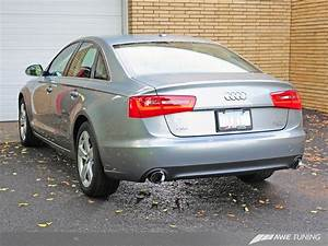 Audi A6 C7 Tuning : awe tuning cat back exhaust for 2012 14 audi a6 c7 ~ Kayakingforconservation.com Haus und Dekorationen