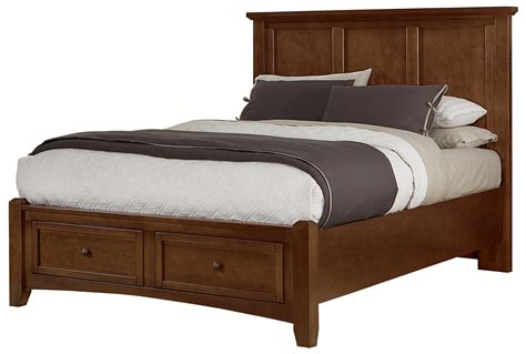 storage bedroom furniture vaughan bassett bonanza mansion storage bed with 2 13400