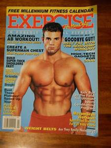 Exercise For Men Only Bodybuilding Workout Muscle Magazine 2