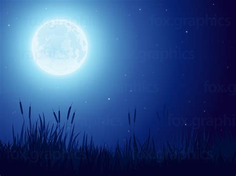 Moon Background Moon Background Fox Graphics
