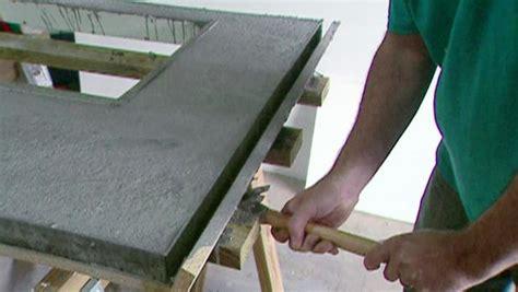 concrete countertop molds remove a concrete counter mold video diy