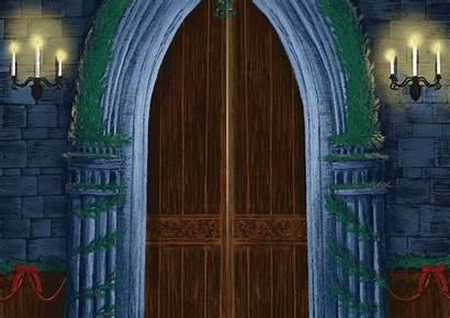 Entrance Hall Hogwarts Animated Door Harry Pottermore