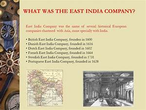 What Was The East India Company