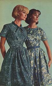 Vintage Women's Acetate Crepe Dresses from a 1964 catalog ...