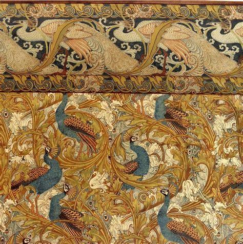 Animal Wallpaper Designs - animal wallpaper interior design peacock nouveau
