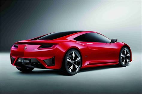 2012 acura nsx concept super handling all wheel drive