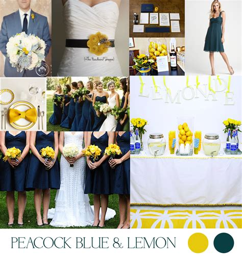 blue wedding color schemes wedding color schemes