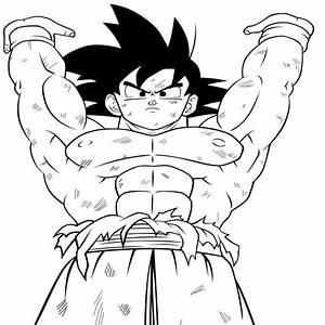 Dibujos Goku Para Colorear E Imprimir