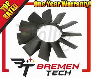 Engine Cooling Fan Blade Mtc 1062 Fits 97