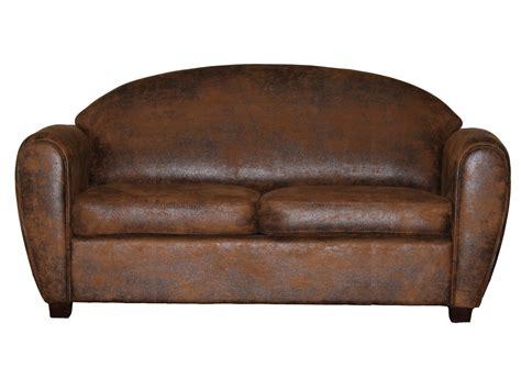 canape cuir vieilli vintage canap en cuir vieilli amazing affordable canap maison du