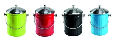 poubelle compost pour cuisine poubelle de table à compost pour la cuisine pratique et sans odeur tout allant vert le