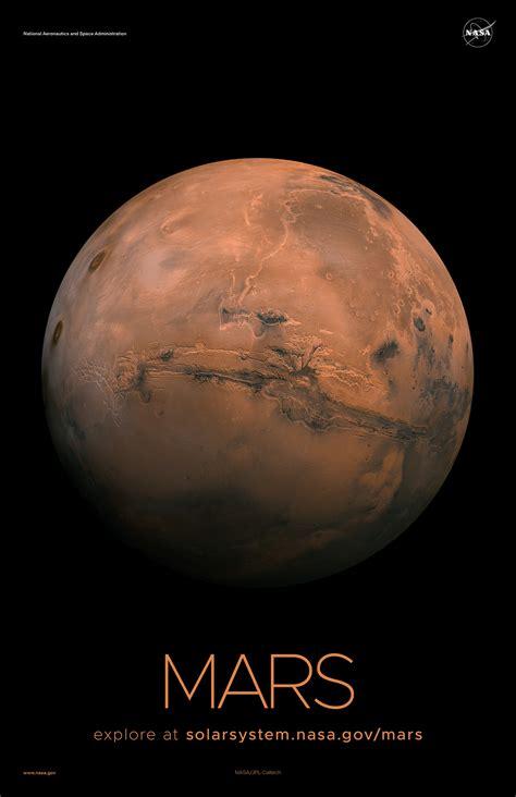 Mars Poster - Version A | NASA Solar System Exploration
