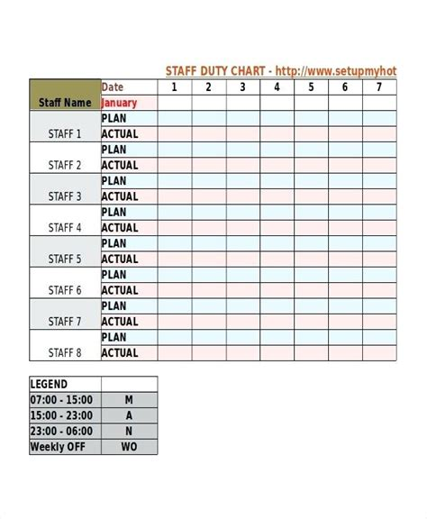 trade show booth duty schedule template employee shift schedule template staff roster excel