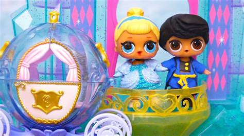 Lol Surprise Babies Turn Into Characters From Cinderella