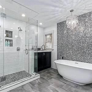 Top, 60, Best, Grey, Bathroom, Ideas