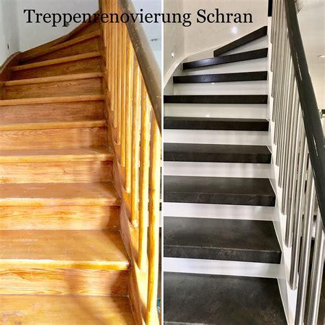 Treppe Neu Gestalten by Pin Treppenrenovierung Schran Auf Alte Treppe Neu