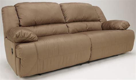 hogan mocha 2 seat reclining sofa from ashley 5780281
