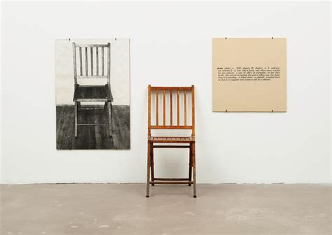 one and three chairs joseph kosuth wikiart org encyclopedia of visual arts