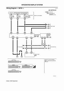 Diagram  Nissan Murano Electrical Wiring Diagrams Manual