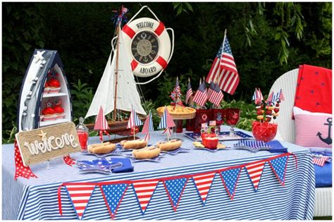 Nautical Toddler Birthday Party Ideas  Page 8 Of 8