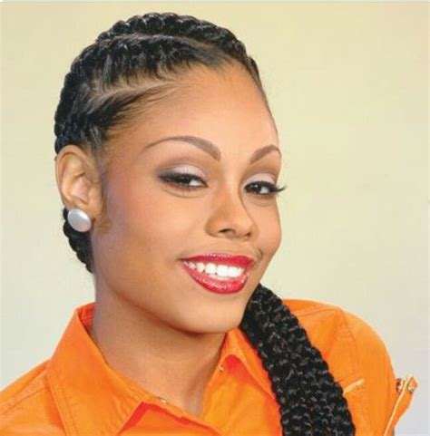 Ciara Cornrow Hairstyle by Protective Styles Via Hair On 15 Pins